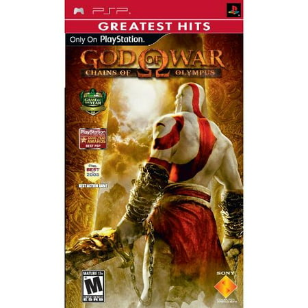 Refurbished God Of War Chains Of Olympus Sony PSP