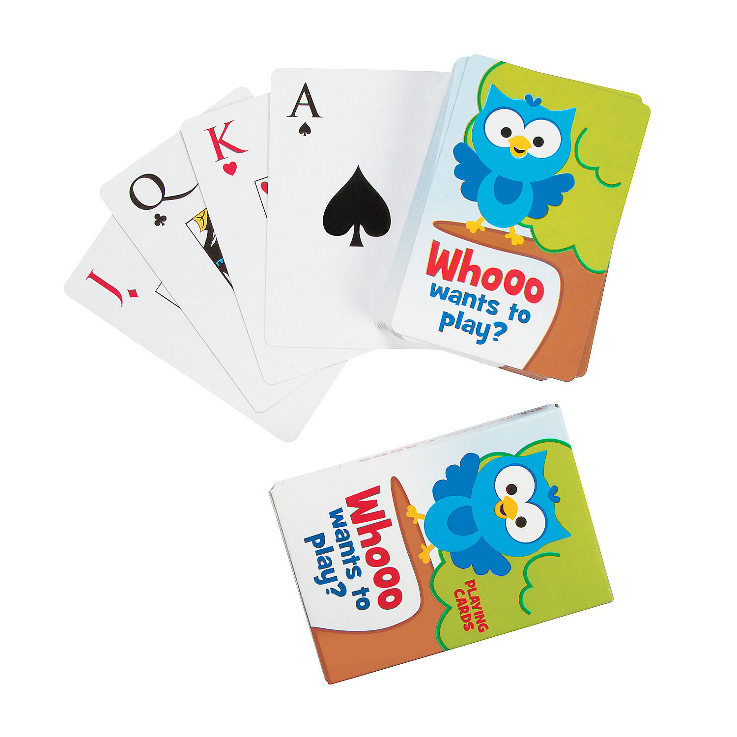 IN-13702129 Owl Playing Cards Per Dozen