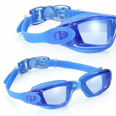 Swimming Goggles No Leaking Anti Fog UV Protection Swim Goggles with Free Protection Case Swimming Goggles Suit for Men Women Kids-Best Swim