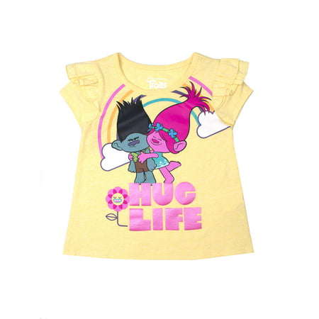 Trolls Ruffle Sleeve T-Shirt (Toddler
