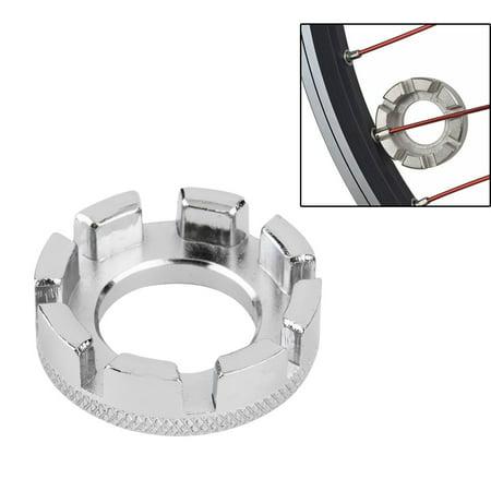 Mini Cycle Spoke Nipple Key Bike Wheel Rim 8 Way Wrench