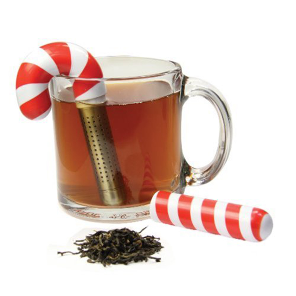 Holiday Candy Cane Tea Infuser