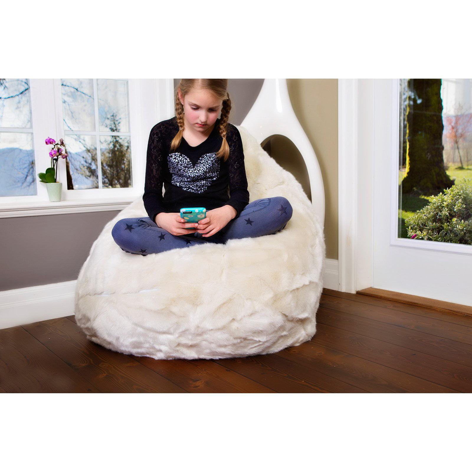 Modern Bean Bag Posh Medium Bean Bag Chair - Walmart.com c2c36969a6ff9
