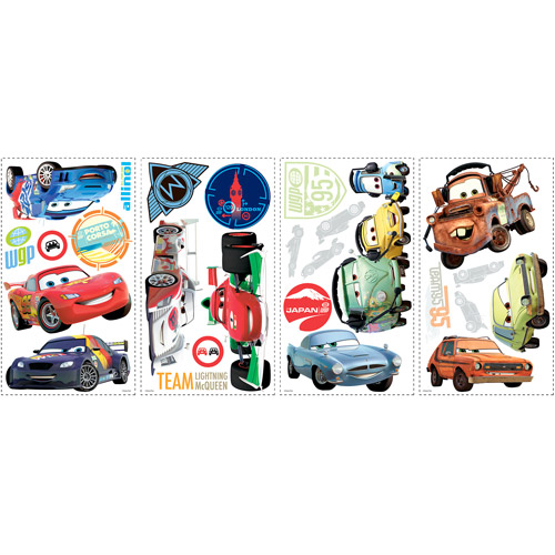 RoomMates Disney Pixar Cars 2 Peel U0026 Stick Giant Wall Decal Part 60