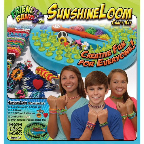 Sunshine Loom Rubber Band Bracelet Craft Kit 851691004347
