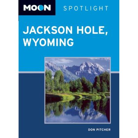 Moon Spotlight Jackson Hole, Wyoming