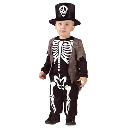 Boys Skeleton Pyjamas (Happy Skeleton Toddler Halloween)