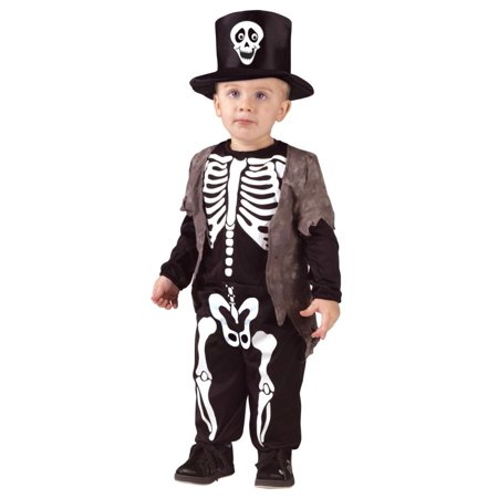 Happy Skeleton Toddler Halloween Costume