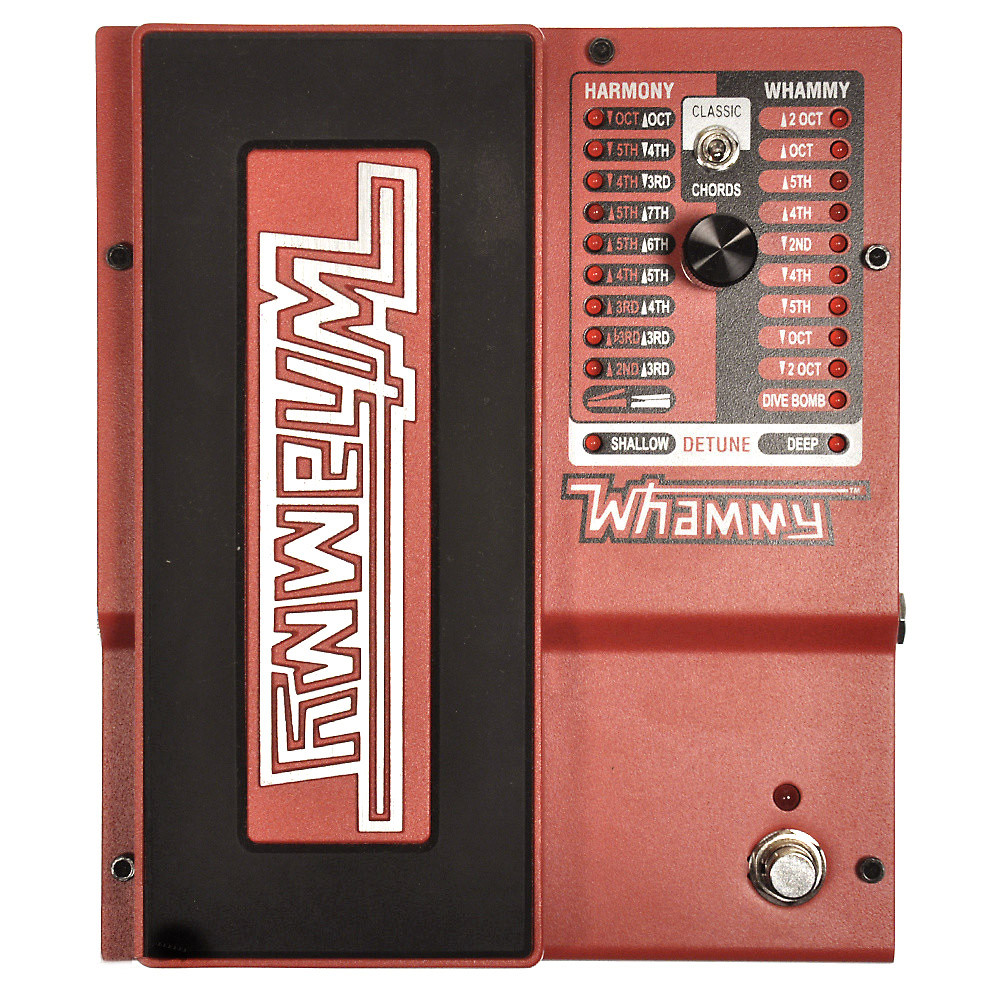 DigiTech WHAMMY 2 Mode Pitch Shift Effect and MIDI Input, Guitar Effects Pedal by DigiTech