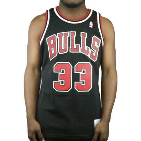 Scottie Pippen Chicago Bulls Mitchell & Ness 1997-98 Hardwood Classics Swingman Jersey - Black