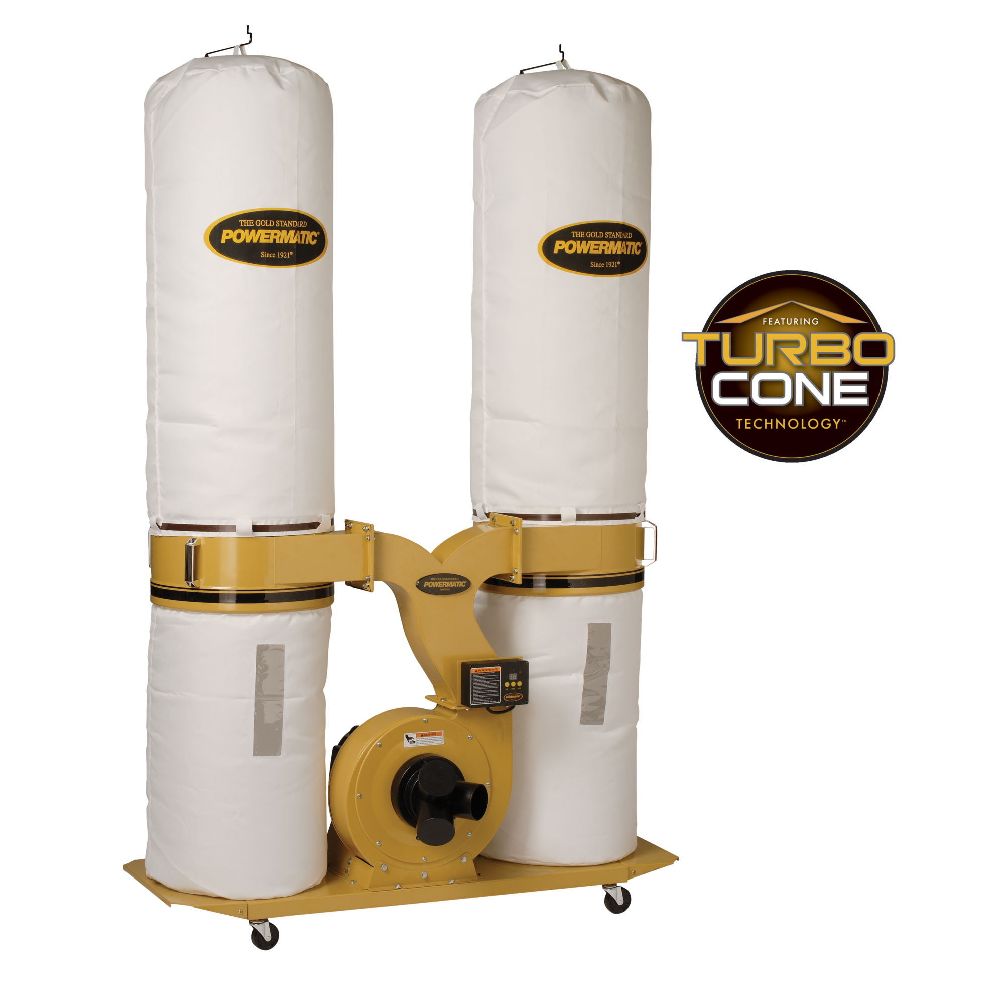 Powermatic PM1900TX-BK Dust Collector w/ Bag Filter KIt 3HP 3PH - 1792073K