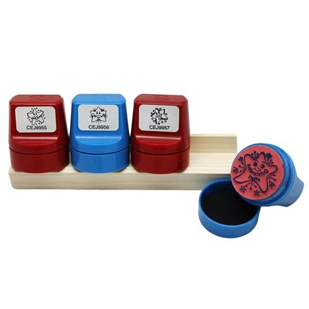 (2 Ea) Jumbo Stampers Incentive Set W/Desk Caddy