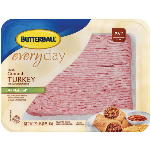 Butterball Everyday Fresh 85% Lean Ground Turkey 1.25 lbs