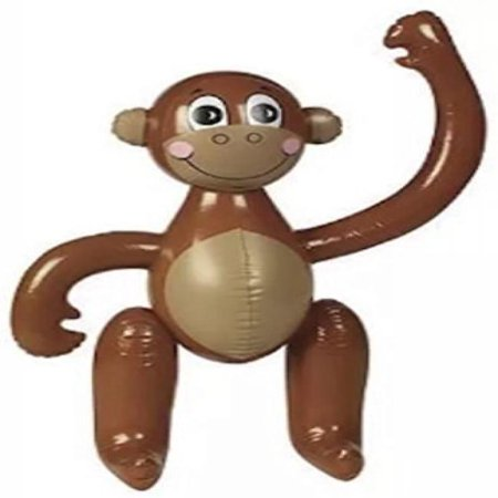 Inflatable Plastic Monkey Luau Characters by EIH