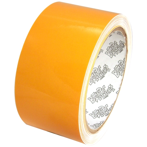 """Tape Planet 3 mil 2"""" x 10 yard Roll Yellow Outdoor Vinyl Tape"""