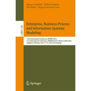 Enterprise, Business-Process and Information Systems Modeling - eBook
