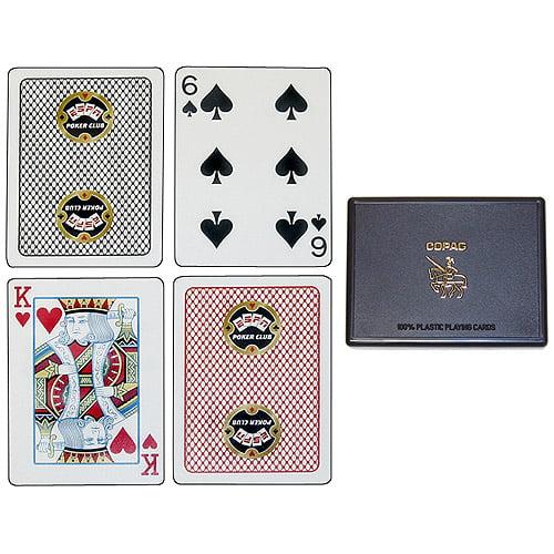 Trademark Poker Espnr Poker Club 100% Plastic Copag Playing Cards by TRADEMARK GAMES INC
