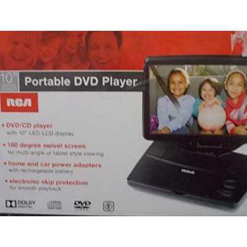 RCA 10 Portable DVD Player Black (DRC98101S) by RCA