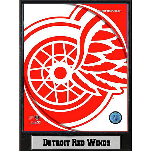 NHL Detroit Red Wings Photo Plaque, 9x12