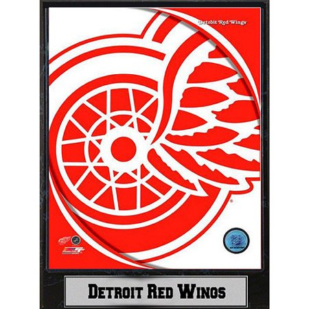 NHL Detroit Red Wings Photo Plaque, 9x12 (Wings Plaque)