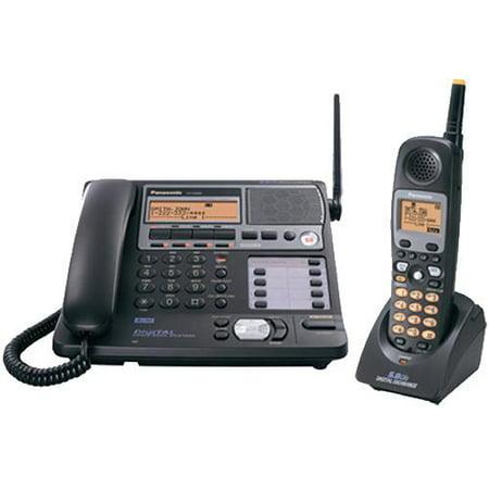 Refurbished Panasonic KX-TG4500B 5.8GHz 1 Handset Expandable Cordless Phone System Refurbished by