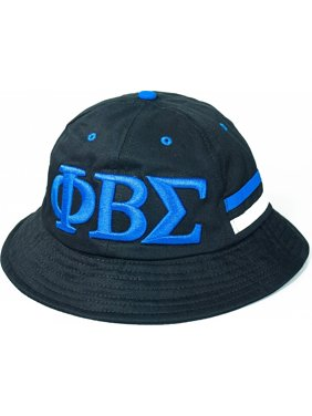 193ab96ed63 Product Image Phi Beta Sigma Divine 9 S4 Mens Bucket Hat  Black - 59 cm . Cultural  Exchange
