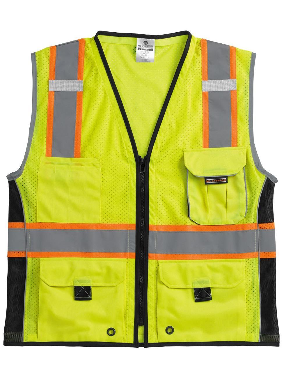 ML Kishigo Black Series Heavy Duty Vest