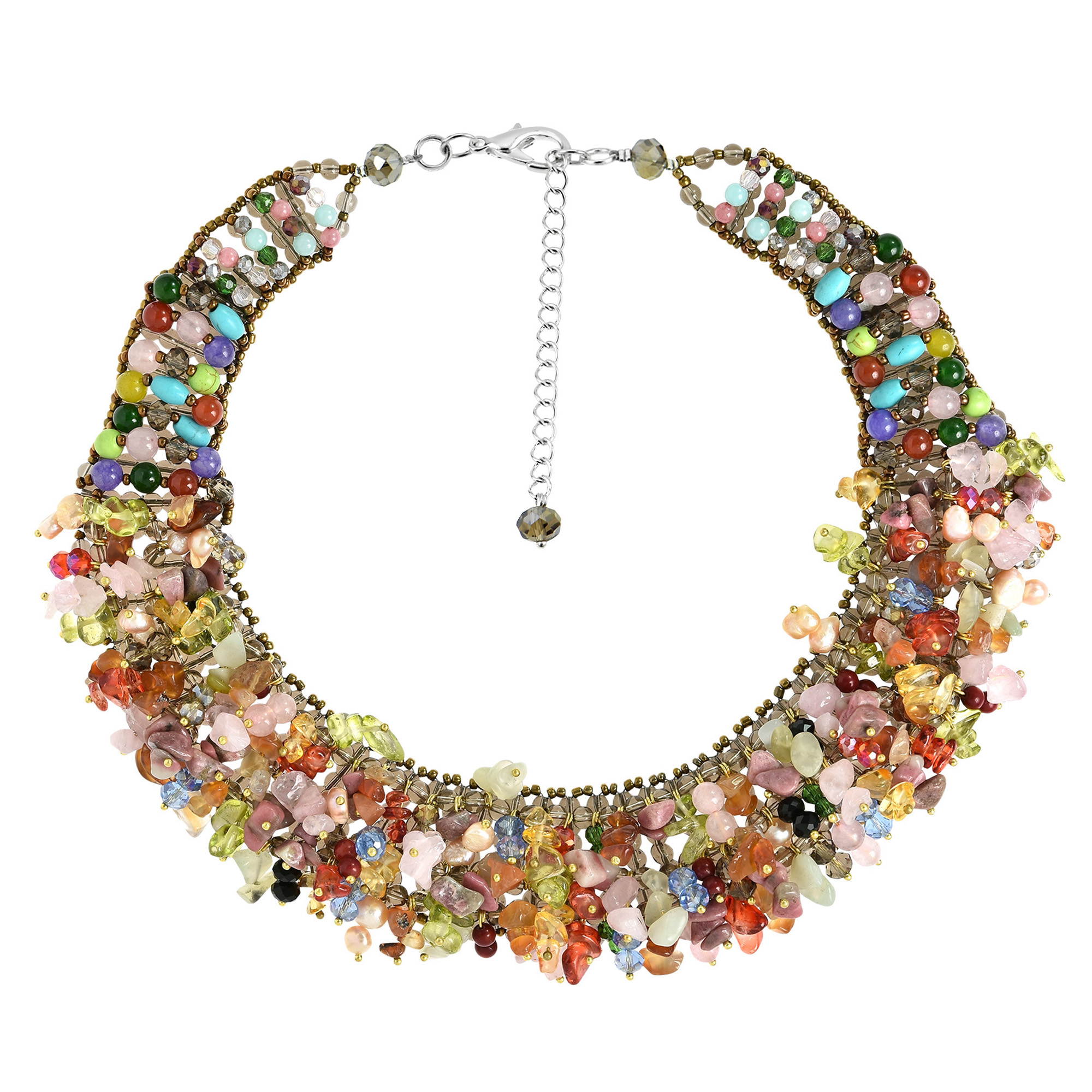 Rainbow Baby Chunky Necklace Baby Multi-Color Necklace Chunky Necklace Toddler Rainbow Chunky Necklace Rainbow Chunky Necklace