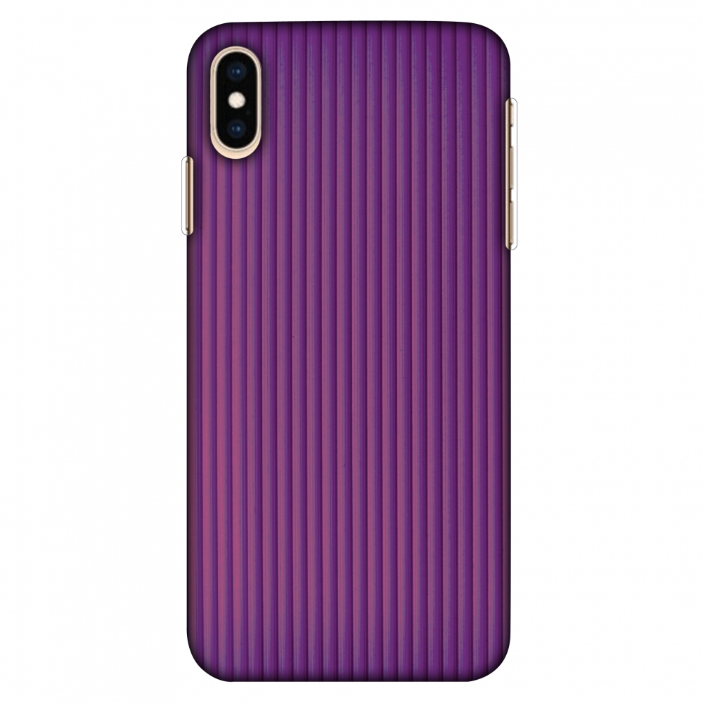 iPhone Xs Max Case, Ultra Slim Case iPhone Xs Max Handcrafted Printed Hard Shell Back Protective Cover Designer iPhone Xs Max Case (2018) - Carbon Fibre Redux Electric Violet 7