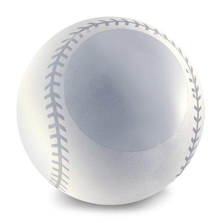- Glass Baseball Award Paperweight