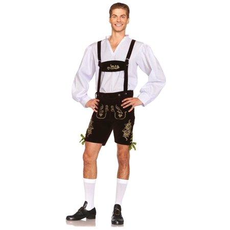 Leg Avenue Oktoberfest Lederhosen Adult Mens - Mens Lederhosen Costume
