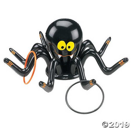 Cool Halloween Games For A Party (Inflate Black Spider Ring Toss ~Halloween~ Party)