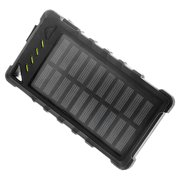 Zunammy ZBank 8000mAh Compact Solar High Speed Portable Charger w/ Dual Output