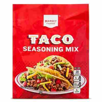 Taco Seasoning Mix 1.25 oz - Market Pantry