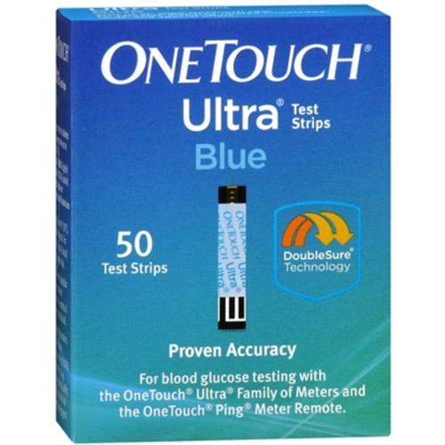 OneTouch Ultra Test Strips Blue 50 Each (Pack of 3)