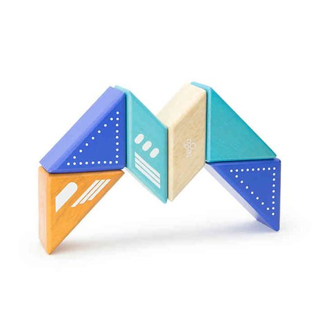Travel Pals 6-Piece Jet Wooden Block Set by Tegu - image 5 of 10