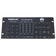 American DJ 32 Channel RGB/RGBW/RGBA LED DMX Lighting Controller | RGBW4C