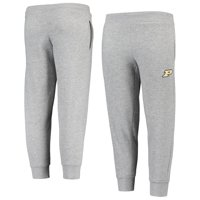 Youth Russell Athletic Heathered Gray Purdue Boilermakers Tri-Blend Fleece Jogger Pants