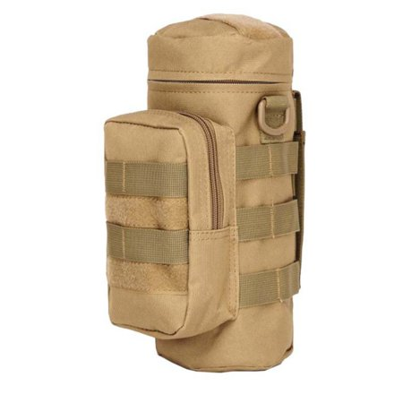Tinymills US Tactical Military Outdoor Outdoor Water Bottle Bag Zipper Pouch Kettle Holder