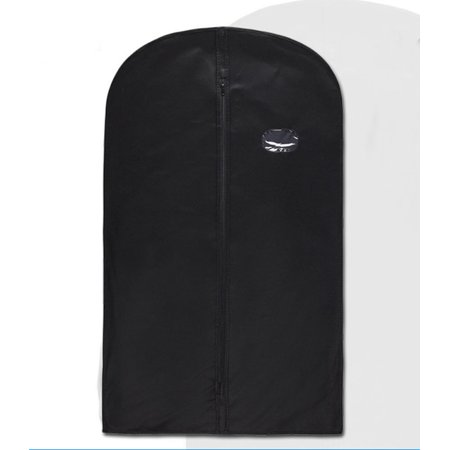 2 Pack Breathable Garment Bag Covers with Clear Window for Suit Carriers Storage ()