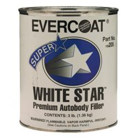 Fiberglass Evercoat White Star Filler - Quart 100205