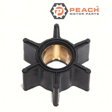 Peach Motor Parts PM-47-89981  PM-47-89981 Impeller, Water Pump (Neoprene); Replaces Mercury Marine®: 47-89981, 47-89981B, 47-65957, 47-39074, Sierra®: 18-3039, Mallory®: 9-45305, GLM®: 89810