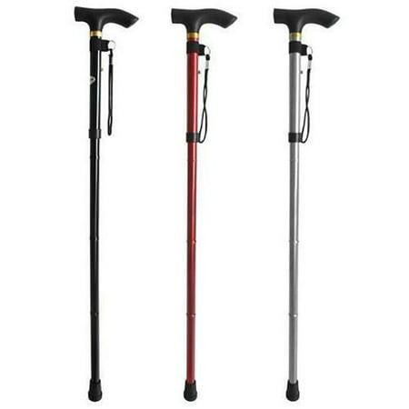 Details about  /Walking Stick  Aluminum  Ultralight Anti-Slip Walking Stick Cane For Elderly