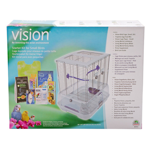"Hagen Vision Bird Cage Starter Kit 8293 Size: Small (20"" ..."