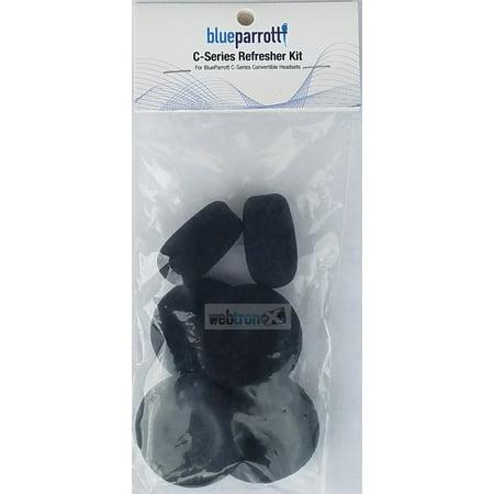 Blue Parrot Headset - Blue Parrot VXI 6pc Foam C-Series Refresher Kit for C400-XT Headset - 204159