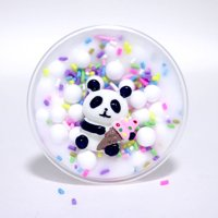 Panda Beads Slime Clay Sludge Toy Kids Adult Stress Relief Plasticin Toys Gift A
