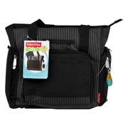 Fisher-Price Tote Diaper Bag with Fastfind Pocket System, Black