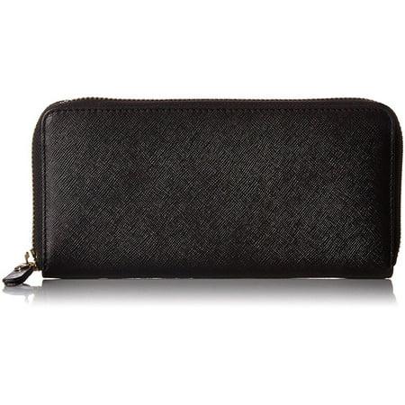 f92cc82bf1 ecco iola large zip wallet, black, one size