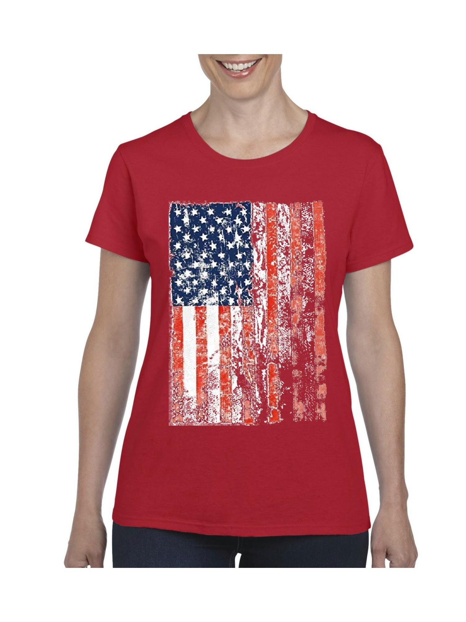 Patriotic America Toddler T-Shirt SpiritForged Apparel Vintage USA Red 2T