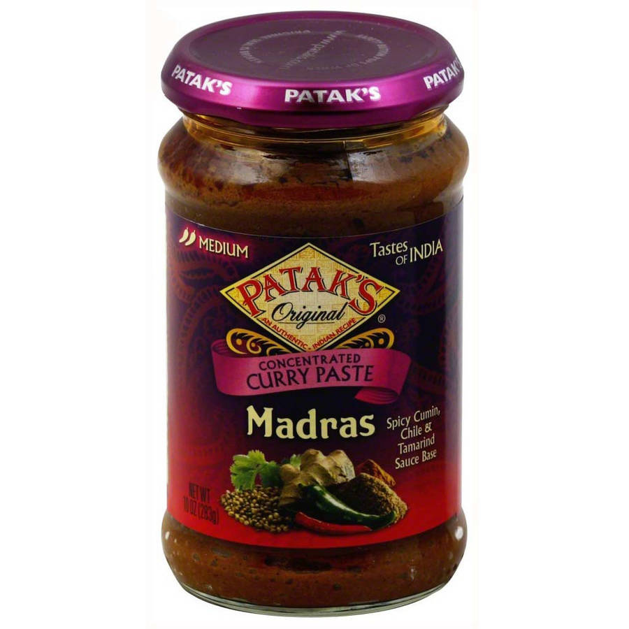 Patak's Concentrated Madras Curry Paste, 10 oz (Pack of 6)